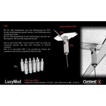 LuxyMod FIX6 Seilklemmen/Verbinder-Set mit M6 Gewinde