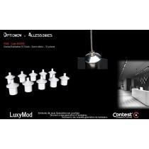 LuxyMod FIX9 Endkappen/Seilhalter