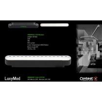 LuxyMod HBAR40D LED-Modul - D-Profil - 9W - 24VAC