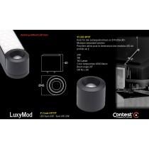 LuxyMod S1 LED-Spot - D-Profil - 3W - 24VAC