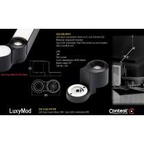 LuxyMod S1Z LED-Spot - Z-Profil - 3W - 24VAC