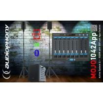 AUDIOPHONY MOJO1042APP Aktiv Stereo PA-System 510W/1020W FX/BT