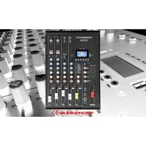 AUDIOPHONY MPX6 Mixer mit Bluetooth/USB/DSP