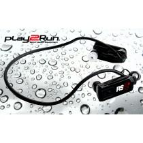 Play2Run RS4+ Wasserdichter Sportkopfhörer/Player - Schwarz