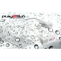 Play2Run RS4+ Wasserdichter Sportkopfhörer/Player - Weiss