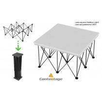 CONTESTAGE LIGHT PLTL-F40 Stand/Riser 40cm zu LIGHT-Serie