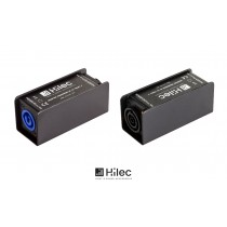HILEC ADAPTER mit NEUTRIK® POWERCON M auf TRUE1F