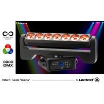 CONTEST ROTOR7i Linear Projector 7 x 15W RGBW