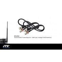 JTS RTF-UF20 Antennenkabel Frontmontage Set