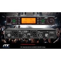 JTS RU-8012DB 2-Kanal UHF True Diversity Empfänger mit REMOSET-U