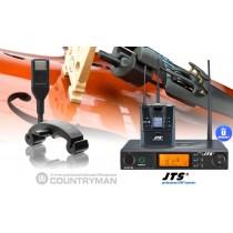 COUNTRYMAN RU8011-CIV Prof. 1-Kanal UHF-System Streichinstrumente/Violine/Geige