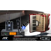 JTS RU8011-CX16 SET 1-Kanal UHF-System mit CX-516W Multipurpose-Mikrofon