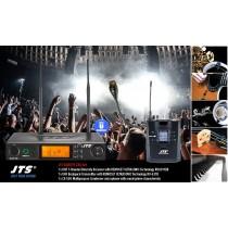 JTS RU8011-CXA SET 1-Kanal UHF-System mit CX-500 Multipurpose-Mikrofon