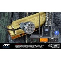 JTS RU8011-CXH SET 1-Kanal UHF-System mit CX-520W Harp-Mikrofon