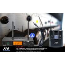 JTS RU8011-GTR SET 1-Kanal UHF-System für Gitarre/Bass/Preamp/Line