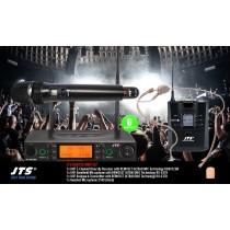 JTS RU8012-HMO SET 2-Kanal UHF-System mit Handmic & Headset (Omni)
