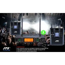 JTS RU8012-LAV SET 2-Kanal UHF-System mit 2 Lavalier-Mikrofonen (Direct/Niere)