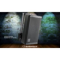 AUDIOPHONY S10b Passiver 2-Weg Lautsprecher 250W/8Ω - schwarz