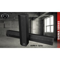 WHARFEDALE SIGMA V8B Passiver Säulenlautsprecher 300W - schwarz