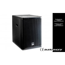 "AUDIOPHONY SUB-OCTAVE MKII 15"" Aktiv Subbass 1000W + 2x450W, Bluetooth"