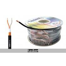 TASKER C114 Mic/Audio-Kabel 2-Adrig (2x0,25mm²) mit Spiralabschirmung 100m