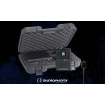 AUDIOPHONY PACK UHF410-LAVA 1-Kanal Drahtlos-Set mit Lavaliermikrofon
