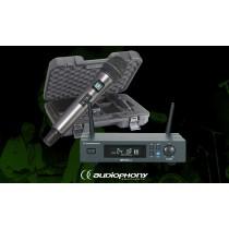 AUDIOPHONY PACK UHF410-HAND 1-Kanal Drahtlos-Set mit Handmikrofon