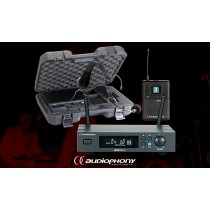 AUDIOPHONY PACK UHF410-HEAD 1-Kanal Drahtlos-Set mit Headsetmikrofon
