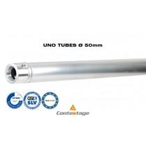 CONTESTAGE UNO-100 Tube/Rohr 100cm, Ø50mm, Farbe ALU