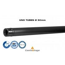 CONTESTAGE UNO-150B Tube/Rohr 150cm, Ø50mm, Farbe SCHWARZ