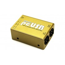 WHIRLWIND PCUSB Stereo DI-Box - USB-Interface