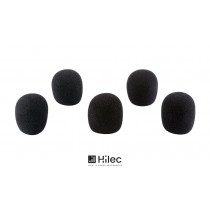 HILEC WINDSCREEN SET BLACK - Windschutz-Set schwarz (5 Stück)