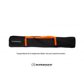 AUDIOPHONY CAB2-BAG - Transporttasche für 2 Lautsprecher-Stative