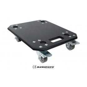 AUDIOPHONY MOJO2200CURVE-BOARD Transportplatte mit Rollen