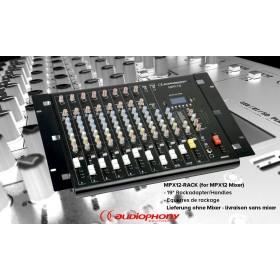 "AUDIOPHONY MPX12-RACK - Rackhandle-Set 19"""