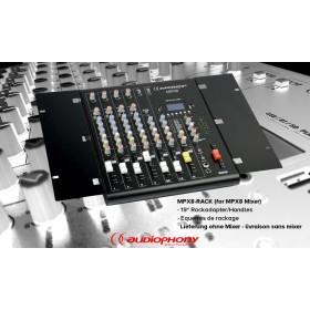 "AUDIOPHONY MPX8-RACK - Rackhandle-Set 19"""