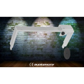 AUDIOPHONY SUP10w - Wandhalterung Weiss