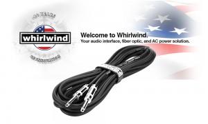 WHIRLWIND SK-Lautsprecherkabel Jack/Jack - 2 x 2mm²