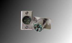 SWITCHCRAFT D3M XLR-Einbaubuchse