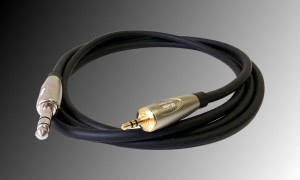 PROJECT Stereo Jackstecker 6.3mm - Mini Jackstecker 3.5mm - 2m