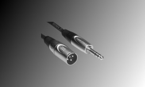 PROJECT Linienkabel XLR/M-Stereojack - Länge 3m