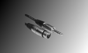 PROJECT Linienkabel XLR/F-Stereojack - Länge 3m