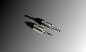 PROJECT Stereo-Linienkabel mit 2 x Stereo Jackstecker 6.3mm