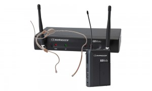 AUDIOPHONY GO-80HSO 1-Kanal Drahtlos-System mit SONIC Headset - Kugelcharakteristik