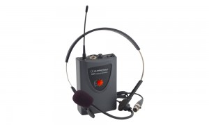 AUDIOPHONY RUNHEAD Headset + UHF-Taschensender