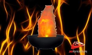 JB SYSTEMS LED Bowl Flame