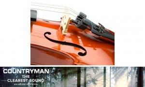 COUNTRYMAN I2 Instrumenten-Mikrofon Geige- und Bratsche-Set - VKIT