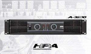 HPA A-3200 2-Kanal Endstufe 2 x 1100W