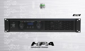 HPA E3i 2-Kanal-Endstufe mit DSP 2 x 420W
