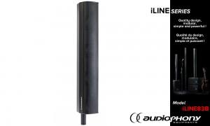 AUDIOPHONY iLINE83B System Lautsprecher 160W/320W - 16 Ohm